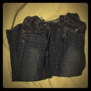 2 pair 6 slim Sonoma Blue Jeans